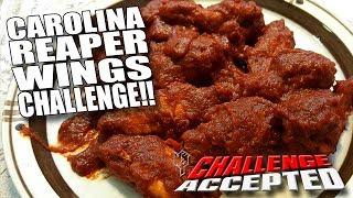 CAROLINA REAPER WINGS CHALLENGE │ WORLD