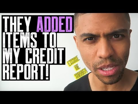 ADDED ITEMS TO MY CREDIT REPORT || PRIMARY TRADELINES | DUPLICATE ACCOUNTS | CREDIT REPAIR COMPANIES