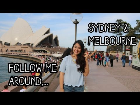 Travel Vlog: Follow me around to Sydney & Melbourne, Australia!