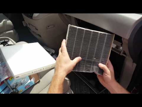 HOW TO REPLACE CABIN AIR FILTER ON A 2011-2016 HONDA ODYSSEY IN 5 MIN OR LESS IN DETAILS