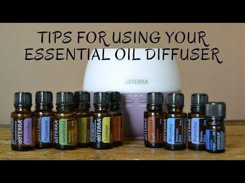 Tips For Using Your Essential Oil Diffuser