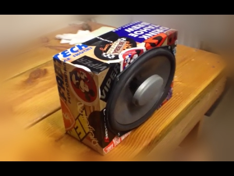 How To Build a CHEAP and SIMPLE DIY Speaker Box