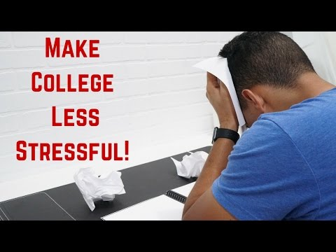 3 THINGS THAT WILL MAKE YOUR COLLEGE LIFE LESS STRESSFUL