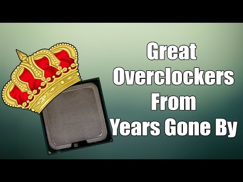 Legendary and Memorable Overclockable Processors
