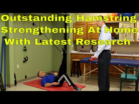 Outstanding Hamstring Strengthening At Home With Latest Research (Prevent Hamstring Injuries)