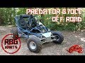 670cc Predator Off Road Go Kart Hill Climbing