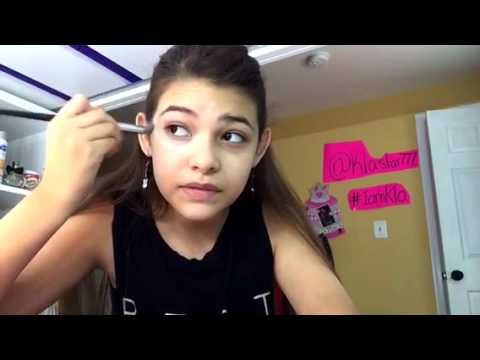 Makeup tutorial for a 12 years old