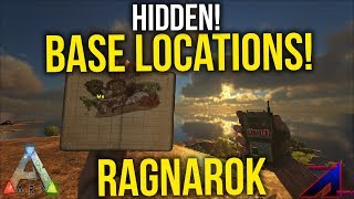 ARK BEST HIDDEN BASE LOCATION Low Profile On Pvp | Ragnarok