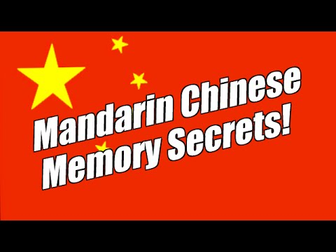 Mandarin Chinese Mnemonics And Morning Memory Secrets