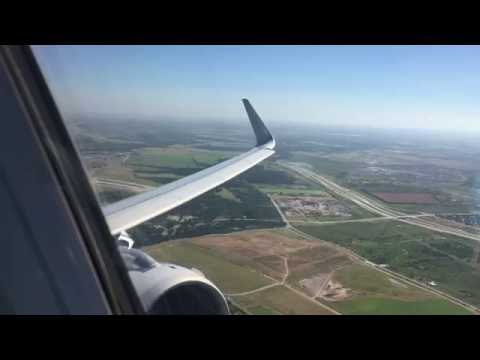 American Airlines A321 First Class Austin to Dallas/Fort Worth (Full Flight)