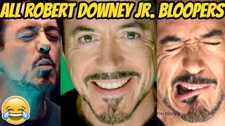 Iron Man - All Robert Downey Jr. Bloopers and Gag Reel - Try Not To Laugh  2017