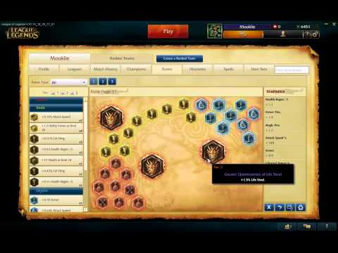 League of Legends (LOL): Getting Started - Guide to Levelling Up, Runes & Masteries