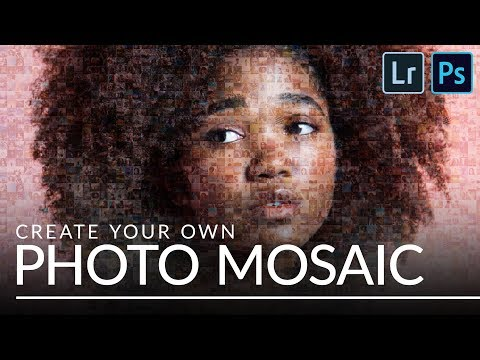 How to Create a Photo Mosaic in Lightroom & Photoshop