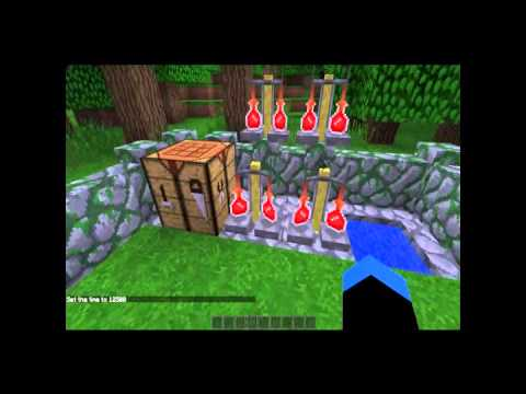 Minecraft tutorials: Part 1 How to make invisibility potions and night vision potions