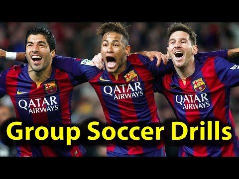 Group Soccer Drills