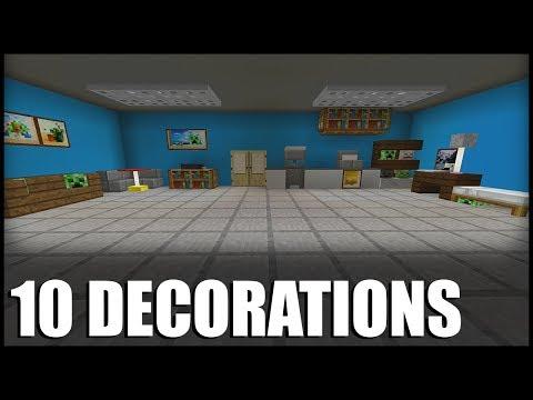 10 Secret Builds/Decorations in Minecraft