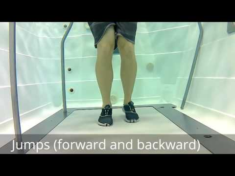 Foot and Ankle Exercises in the Pool setting