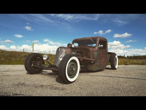 1936 Chevy rat rod, one of a kind.