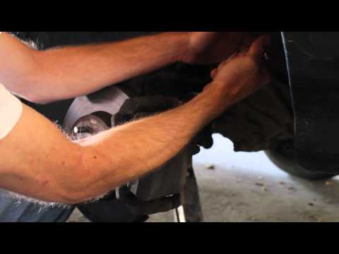 How to Change the Front Brake Pads on a 1997 Honda Civic.