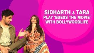 Sidharth Malhotra BEATS Tara Sutaria in our filmy quiz!
