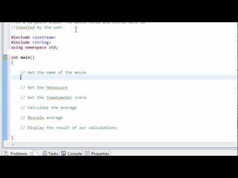 Devising an Algorithm C++ Program - Part 1