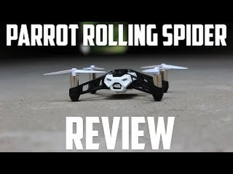 Drone For Under $100 - Parrot MiniDrone Rolling Spider