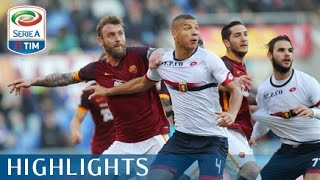 Roma - Genoa 2-0 - Highlights - Matchday 17 - Serie A TIM 2015/16