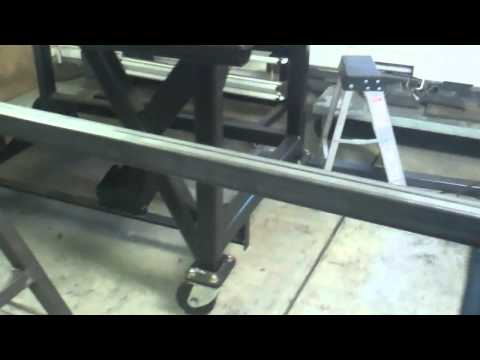 Building a Sawhorse to go with the Welding Table