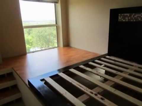 DIY Platform Bed and Storage