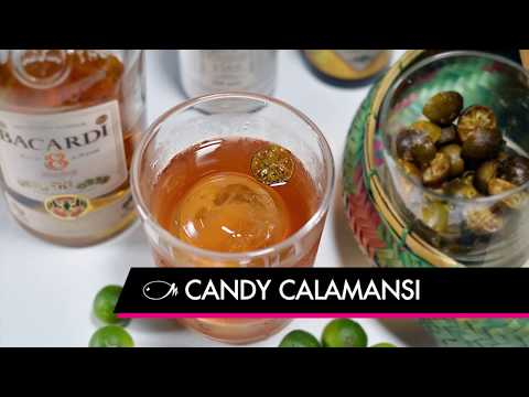 How To Make A Candy Calamansi Cocktail