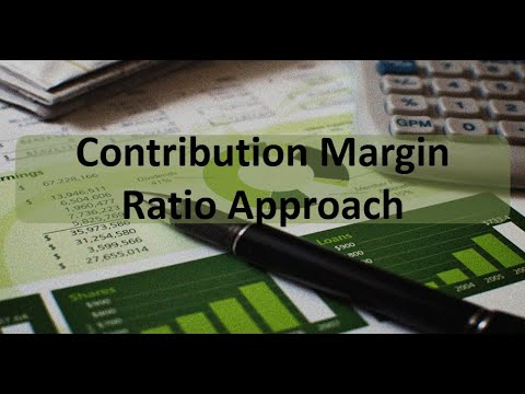 Managerial Accounting: Breakeven Contribution Margin Ratio Approach