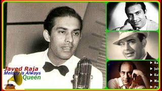 TALAT MAHMOOD-Film~RISHTA-{1954}-Khata Kya Hamari-O Jane Wale TumNa Maane-[ Great Gem ]