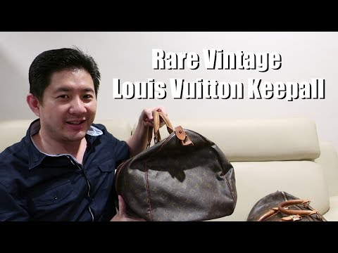 A Vintage Louis Vuitton Keepall 50 - Used LV Bags Philippines - Luxeforlessphilippines
