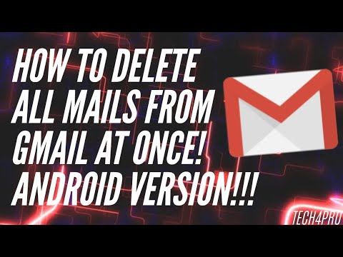 How To Delete All Mails From Gmail At Once On Android