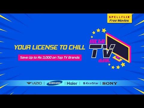 Mega TV Days - Buy Best LED TV & Smart TV Online in Pakistan - Yayvo.com