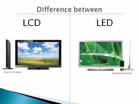 What is the difference between LCD and LED TVs?