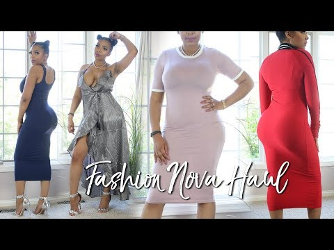 DRESSES YOU NEED FOR SUMMER 2018 | FASHION NOVA HAUL