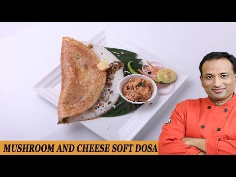 MUSHROOM AND CHEESE SOFT DOSA