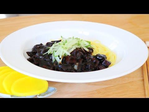 MUST EAT Korean Black Bean Sauce Noodles, Jajangmyeon, CiCi Li