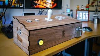 PinSim Mini Arcade Joystick and Virtual Pinball Controller!