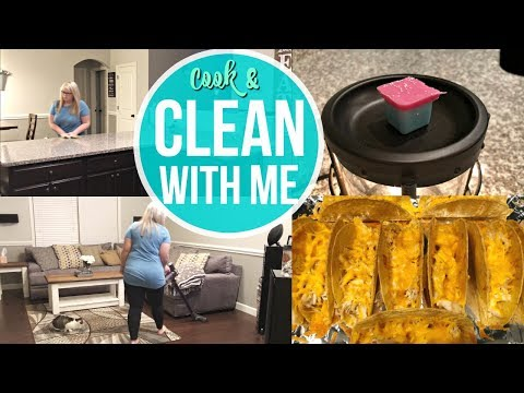 COOK AND CLEAN WITH ME 2018 | CLEANING MOTIVATION