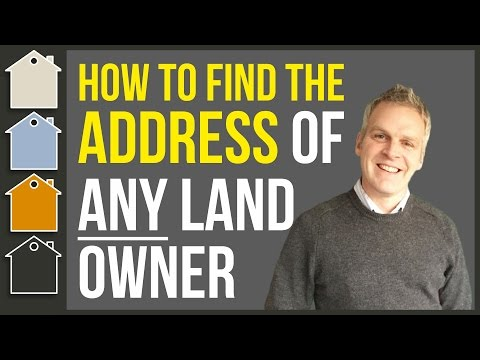 How To Find The Owner Of A Piece Of Land (Real Estate) - Using Land Registry Property Search