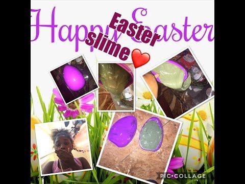 Easter slime ❤️~BeautybyDelores