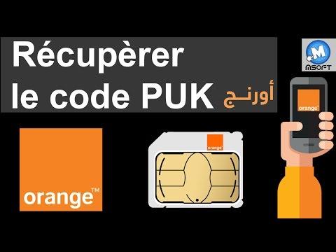 Récupèrer le code PUK en toute simplicité - Orange Maroc | Msoft | (Darija)