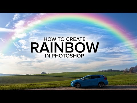 How to Add Realistic Rainbow To Photo in Photoshop