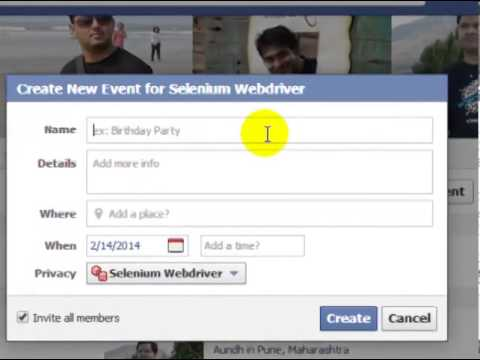 How to invite a group to an event in facebook