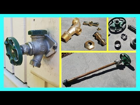 How to Fix a Leaky Frost Free Outdoor Faucet. Handle leaks