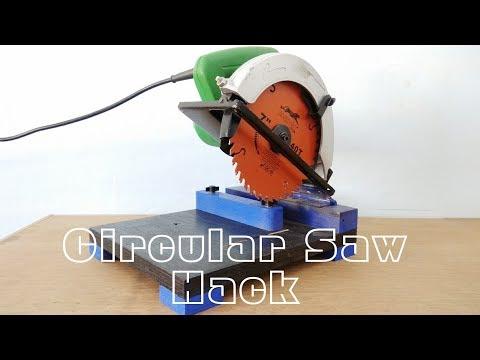 Circular saw Hack || Make A Mini Chop saw Machine