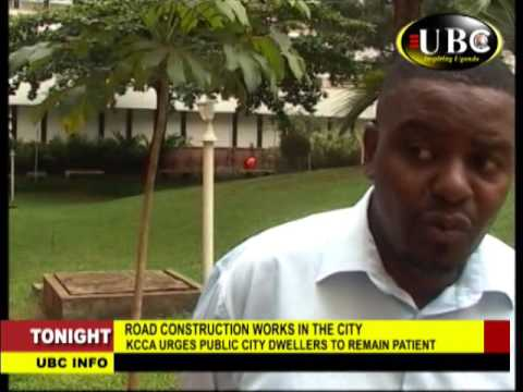 KCCA ROAD CONSTRUCTION WORKS UNDERWAY TO IMPROVE SERVICE DELIVERY