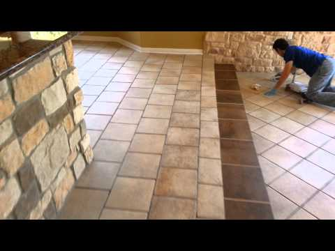Grout Color Change and Seal Georgetown